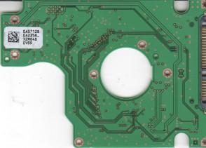 HTS543225L9A300, 0A57128 DA2358_, 0A57285, DA2352, Hitachi SATA 2.5 PCB