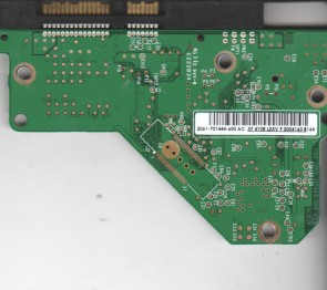 WD5000AAKS-00TMA0, 2061-701444-600 AC, WD SATA 3.5 PCB