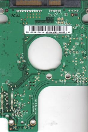 WD800BEVS-08RST2, 2061-701450-Z00 AG, WD SATA 2.5 PCB