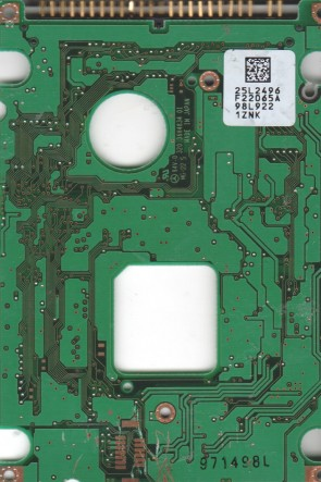 DBCA-206480, 25L2496 F22065A, 21L9520, F22066, IBM IDE 2.5 PCB