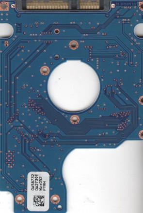 HTS545050B9A300, 0A58732 DA2739E, 0A70375, DA2959, Hitachi SATA 2.5 PCB