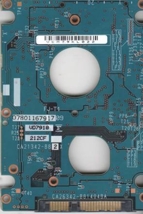 MHW2160BJ G2, CA06855-B43800C1, CA26342-B81404BA, Fujitsu 160GB SATA 2.5 PCB