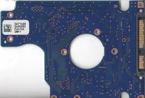 HTS725025A9A364, 0A71428 DA3005C, 0A78272, DA3688, Hitachi SATA 2.5 PCB.