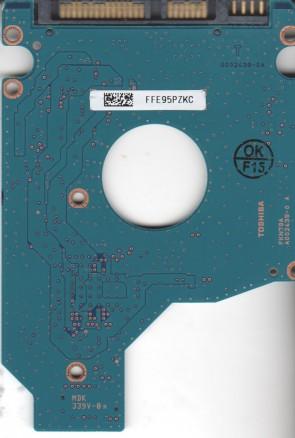 MK5055GSXF, D3/FH405B, HDD2H71 X TW01 T, G002439-0A, Toshiba SATA 2.5 PCB