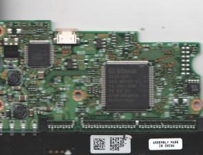 HDS728080PLAT20, 0A29180 BA1439_, PN 0A30210, Hitachi 82GB SATA 3.5 PCB