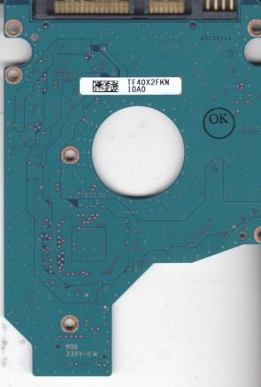 MK6459GSXP, A0/GT001H, HDD2J52 S QG01 T, G002825A, Toshiba SATA 2.5 PCB