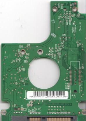 WD5000BEVT-11ZAT0, 2061-701572-400 AA, WD SATA 2.5 PCB
