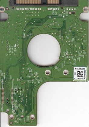 WD7500BPVT-22HXZT3, 771820-200 03P, WD SATA 2.5 PCB