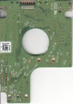 WD5000BMVV-11SXZS1, 2061-701754-500 AA, WD USB 2.5 PCB