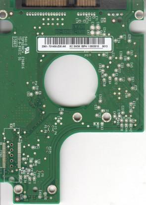 WD1600BEVS-08RST2, 2061-701450-Z00 AK, WD SATA 2.5 PCB