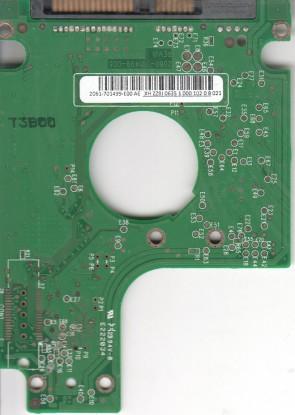 WD3200BEVT-60ZCT1, 2061-701499-E00 AE, REV A, WD SATA 2.5 PCB