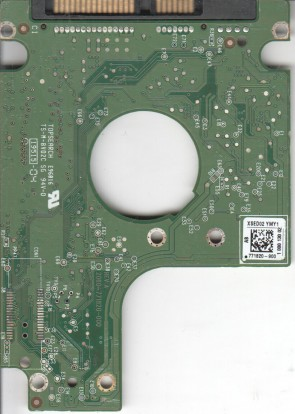 WD2500BPVT-00JJ5T0, 771820-900 AB, WD SATA 2.5 PCB