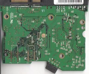 WD2500SD-01KCC0, 2061-701267-200 AK, WD SATA 3.5 PCB
