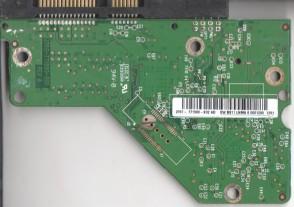 WD2500AAJS-08L7A0, 2061-771590-X02 AD, REV A, WD SATA 3.5 PCB