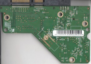 WD2500AVVS-61L2B0, 2061-771590-Z01 AB, REV A, WD SATA 3.5 PCB
