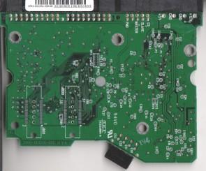 WD2000BB-00GUA0, 2061-001266-100 AB, WD IDE 3.5 PCB