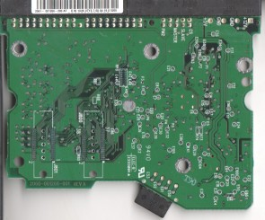WD2500BB-00GUA0, 2061-001266-200 AF, WD IDE 3.5 PCB