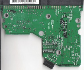 WD400BB-75FJA1, 2061-001130-300 AF, WD IDE 3.5 PCB