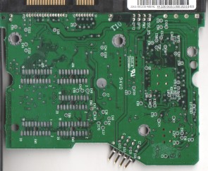 WD800JD-40GBB2, 2061-001215-400 AL, WD SATA 3.5 PCB