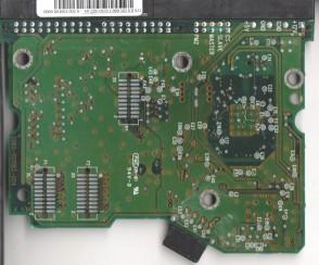 WD400AB-22BTA0, 0000 001062-002 A, WD IDE 3.5 PCB