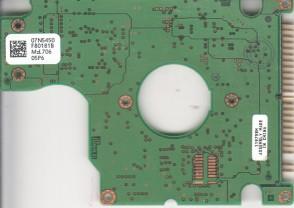 IC25N010ATDA04-0, 07N5450 F80181B, PN 07N7162, Hitachi 10GB IDE 2.5 PCB