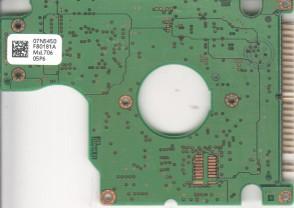 IC25N006ATDA04-0, 07N5450 F80181A, PN 07N7161, Hitachi 6GB IDE 2.5 PCB