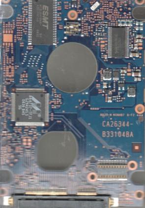 MHZ2160BH G2, PN CP224802-01, Fujitsu 160GB SATA 2.5 PCB