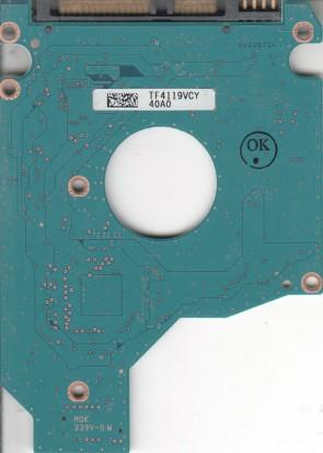 MK5061GSYN, HDD2F22 F VL01 T, G002872A, Toshiba SATA 2.5 PCB