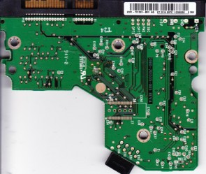 WD2500JS-00MHB0, 2061-701335-B00 AG, WD SATA 3.5 PCB