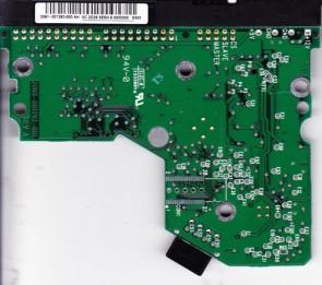 WD400BB-23JHA1, 2061-001292-000 AH, REV A, WD IDE 3.5 PCB