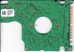 HTS421240H9AT00, 0A26873 DA1289_, PN 0A27455, Hitachi 40GB IDE 2.5 PCB