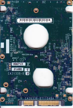 MHV2040BH, CP170825-01, CA26338-B71104BA, Fujitsu 40GB SATA 2.5 PCB