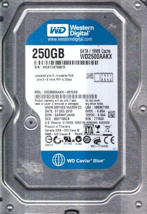 WD40EFRX-68WT0N0 Western Digital 4TB SATA 3.5 Hard Drive DCM HHNNNT2MHB