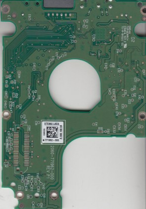 WD5000LMVW-11VEDS6, 771962-600 03RD3, WD USB 2.5 PCB