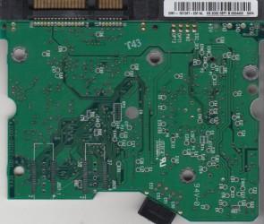 WD2500JD-00HBB0, 2061-001267-200 AL, WD SATA 3.5 PCB