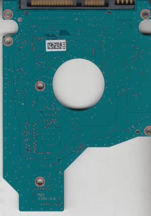MK1661GSYN, A0/MH000C, HDD2F25 F VL01 B, G002872A, Toshiba SATA 2.5 PCB