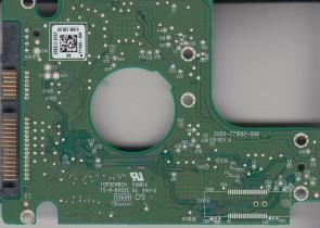 WD2500BEKT-75PVMT1, 771692-806 AE, WD SATA 2.5 PCB