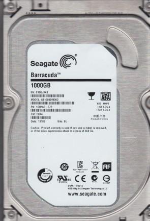 ST1000DM003, S1D, SU, PN 1CH162-572, FW CC44, Seagate 1TB SATA 3.5 Hard Drive