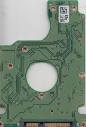HTS725032A7E630, 0J34897 DA6115A, 0J47813, DA7148, Hitachi SATA 2.5 PCB
