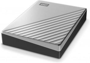 WDBPMV0040BSL WD 4TB Silver My Passport Ultra for Mac Portable External Hard Drive