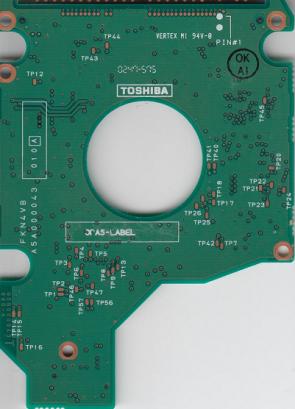 MK3018GAS, HDD2169 S ZE01 T, G5B000043000-A, Toshiba 30GB IDE 2.5 PCB