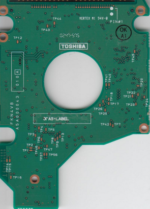 MK3018GAS, HDD2169 D ZE01 T, G5B000043000-A, Toshiba 30GB IDE 2.5 PCB