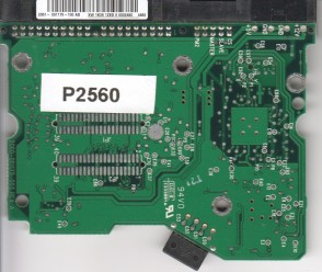 WD2500JB-00FUA0, 2061-001179-100 AD, WD IDE 3.5 PCB