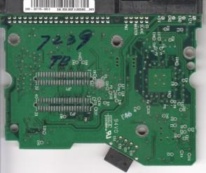 WD2500JB-34EVA0, 2061-001179-000 C, WD IDE 3.5 PCB