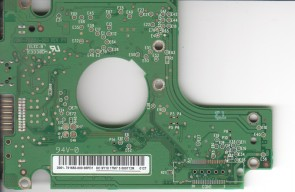 WD2500BMVV-11A1PS0, 2061-701650-000 08PD1, WD USB 2.5 PCB